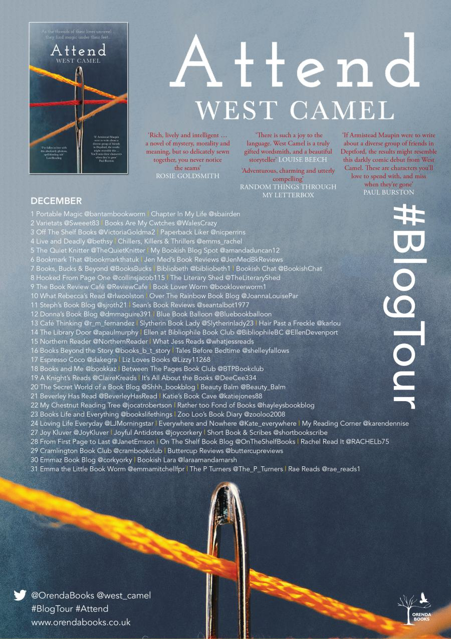 Attend Blog Tour Poster