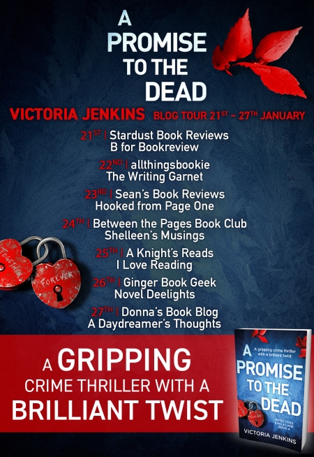 a promnise to the dead - blog tour