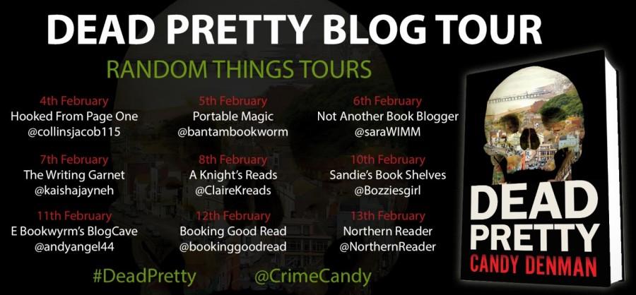 dead pretty blog tour poster