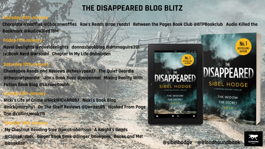 the disappeared blog blitz