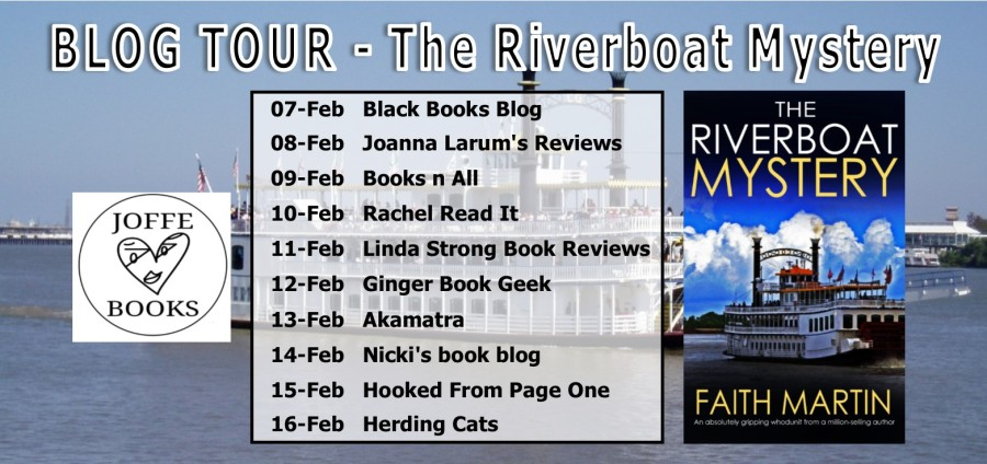 Riverboat Mystery Blog Tour Banner