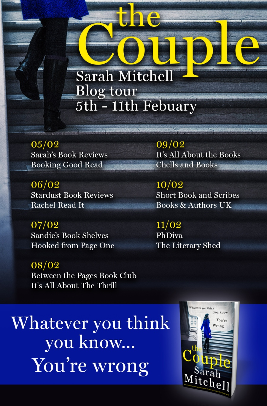 The Couple Blog Tour Poster